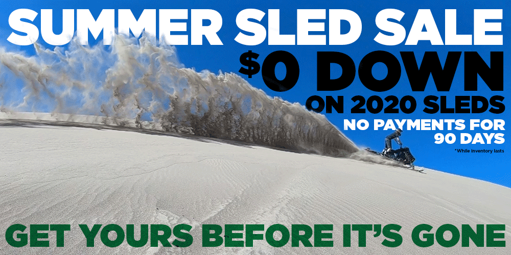 Summer Sled Sale