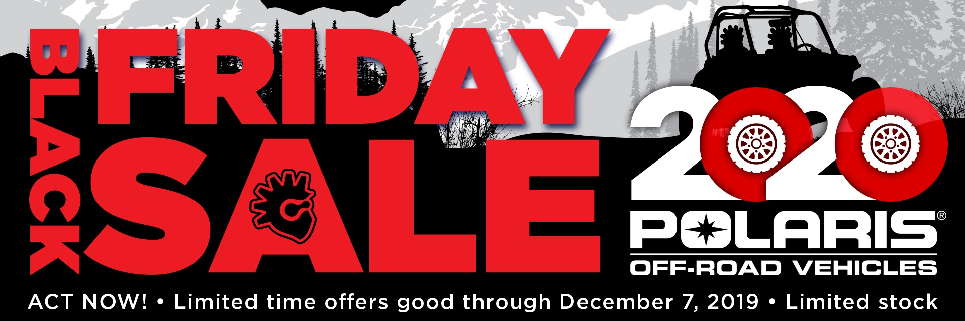 Black Friday Sale Going On Now For 2020 Polaris Side By Sides