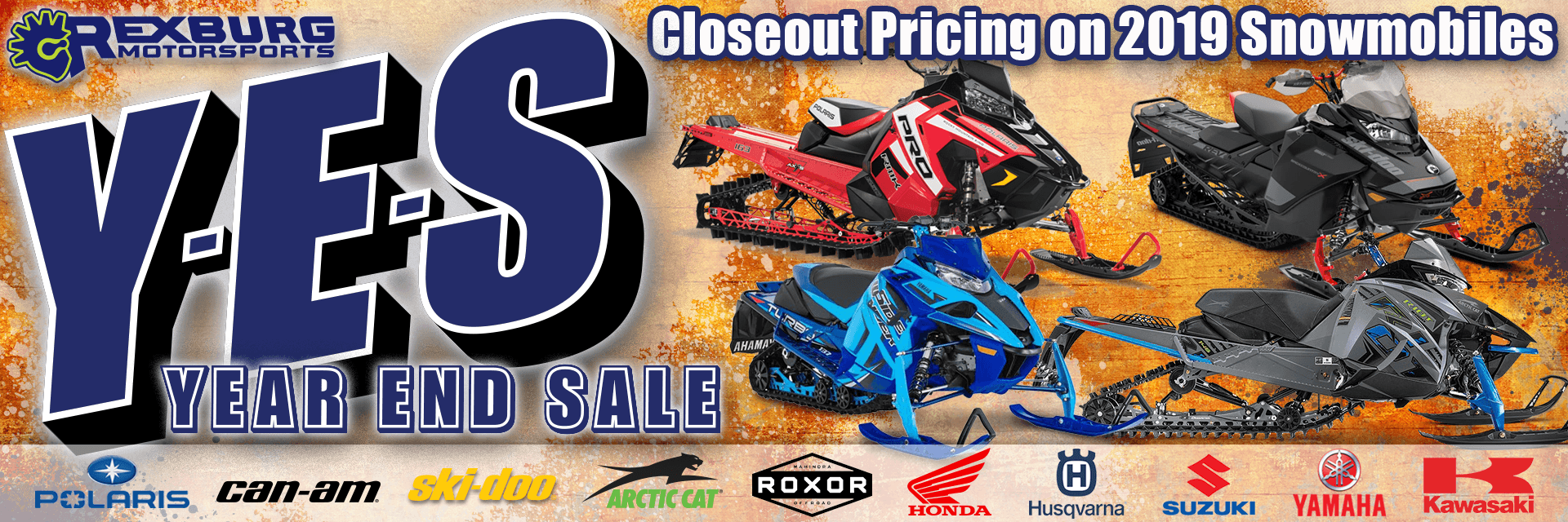 2019 Snowmobile Sale