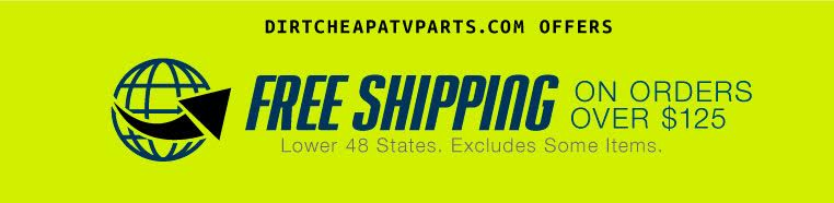 Text reads Free Shipping on orders over $125.